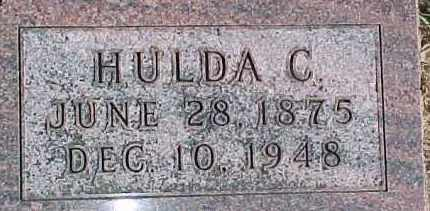 HOLM, HULDA C. - Dixon County, Nebraska | HULDA C. HOLM - Nebraska Gravestone Photos
