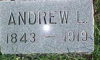 HOLMBERG, ANDREW L. - Dixon County, Nebraska | ANDREW L. HOLMBERG - Nebraska Gravestone Photos