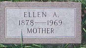 HOLMBERG, ELLEN A. - Dixon County, Nebraska   ELLEN A. HOLMBERG - Nebraska Gravestone Photos