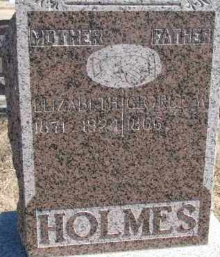 HOLMES, GEORGE W. - Dixon County, Nebraska | GEORGE W. HOLMES - Nebraska Gravestone Photos