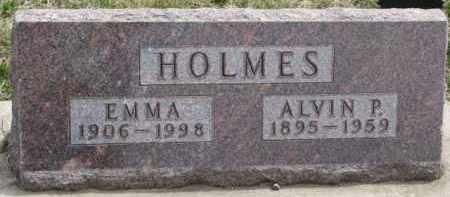 HOLMES, EMMA - Dixon County, Nebraska | EMMA HOLMES - Nebraska Gravestone Photos
