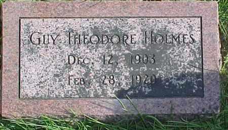 HOLMES, GUY THEODORE - Dixon County, Nebraska | GUY THEODORE HOLMES - Nebraska Gravestone Photos