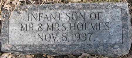 HOLMES, INFANT - Dixon County, Nebraska | INFANT HOLMES - Nebraska Gravestone Photos