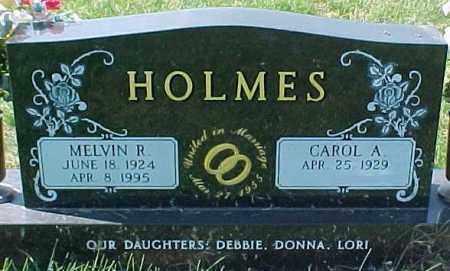 HOLMES, MELVIN R. - Dixon County, Nebraska | MELVIN R. HOLMES - Nebraska Gravestone Photos
