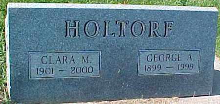 HOLTORF, CLARA M. - Dixon County, Nebraska | CLARA M. HOLTORF - Nebraska Gravestone Photos