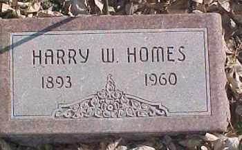 HOMES, HARRY W. - Dixon County, Nebraska | HARRY W. HOMES - Nebraska Gravestone Photos