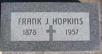 HOPKINS, FRANK J. - Dixon County, Nebraska   FRANK J. HOPKINS - Nebraska Gravestone Photos