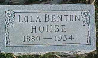 HOUSE, LOLA MAE - Dixon County, Nebraska | LOLA MAE HOUSE - Nebraska Gravestone Photos