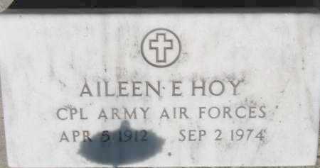 HOY, AILEEN E. - Dixon County, Nebraska | AILEEN E. HOY - Nebraska Gravestone Photos