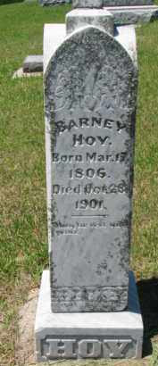 HOY, BARNEY - Dixon County, Nebraska   BARNEY HOY - Nebraska Gravestone Photos