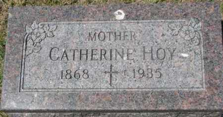 HOY, CATHERINE - Dixon County, Nebraska | CATHERINE HOY - Nebraska Gravestone Photos
