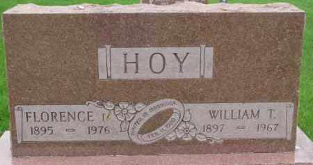 HOY, FLORENCE - Dixon County, Nebraska | FLORENCE HOY - Nebraska Gravestone Photos