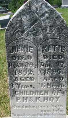HOY, JIMMIE - Dixon County, Nebraska | JIMMIE HOY - Nebraska Gravestone Photos