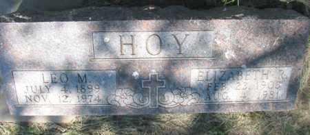 HOY, ELIZABETH R. - Dixon County, Nebraska | ELIZABETH R. HOY - Nebraska Gravestone Photos