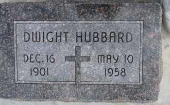 HUBBARD, DWIGHT - Dixon County, Nebraska | DWIGHT HUBBARD - Nebraska Gravestone Photos