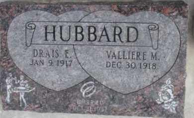 HUBBARD, DRAIS E. - Dixon County, Nebraska | DRAIS E. HUBBARD - Nebraska Gravestone Photos