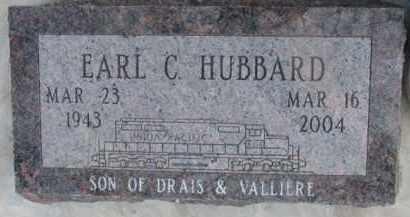 HUBBARD, EARL C. - Dixon County, Nebraska | EARL C. HUBBARD - Nebraska Gravestone Photos