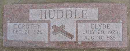 HUDDLE, DOROTHY - Dixon County, Nebraska | DOROTHY HUDDLE - Nebraska Gravestone Photos