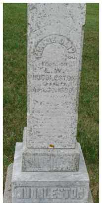 HUDDLESTON, MINNIE OLIVE - Dixon County, Nebraska | MINNIE OLIVE HUDDLESTON - Nebraska Gravestone Photos