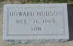 HUDSON, HOWARD - Dixon County, Nebraska | HOWARD HUDSON - Nebraska Gravestone Photos