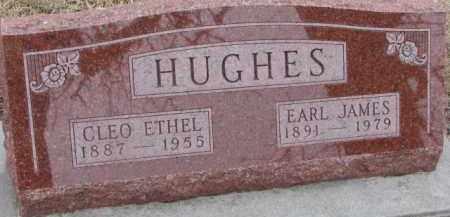 HUGHES, CLEO ETHEL - Dixon County, Nebraska | CLEO ETHEL HUGHES - Nebraska Gravestone Photos