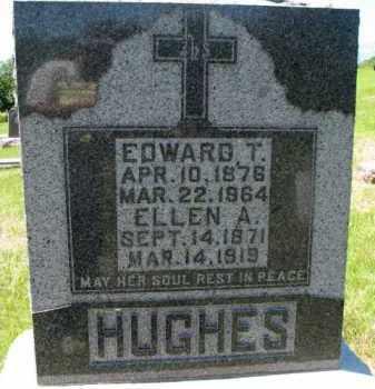 HUGHES, ELLEN A. - Dixon County, Nebraska | ELLEN A. HUGHES - Nebraska Gravestone Photos