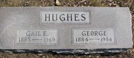 HUGHES, GEORGE - Dixon County, Nebraska | GEORGE HUGHES - Nebraska Gravestone Photos