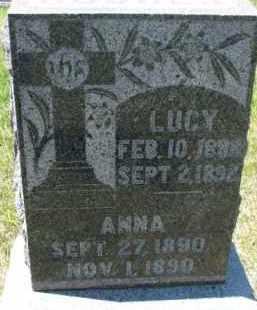 HUGHES, LUCY - Dixon County, Nebraska   LUCY HUGHES - Nebraska Gravestone Photos