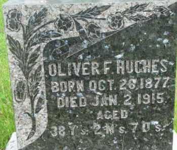 HUGHES, OLIVER F. - Dixon County, Nebraska | OLIVER F. HUGHES - Nebraska Gravestone Photos