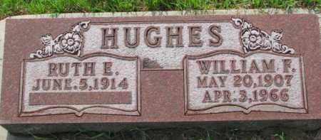 HUGHES, WILLIAM F. - Dixon County, Nebraska | WILLIAM F. HUGHES - Nebraska Gravestone Photos