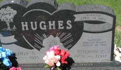 HUGHES, SHERRY L. - Dixon County, Nebraska | SHERRY L. HUGHES - Nebraska Gravestone Photos
