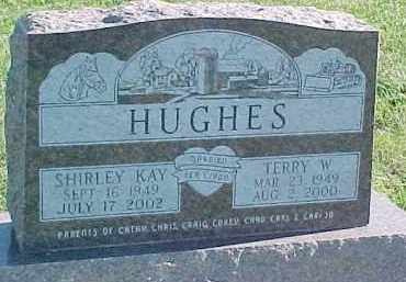 HUGHES, TERRY W. - Dixon County, Nebraska | TERRY W. HUGHES - Nebraska Gravestone Photos