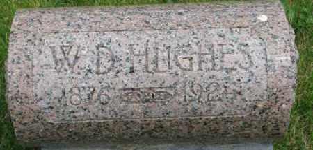 HUGHES, W.D. - Dixon County, Nebraska   W.D. HUGHES - Nebraska Gravestone Photos