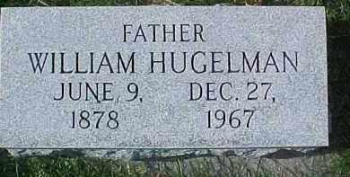 HUGELMAN, WILLIAM - Dixon County, Nebraska | WILLIAM HUGELMAN - Nebraska Gravestone Photos