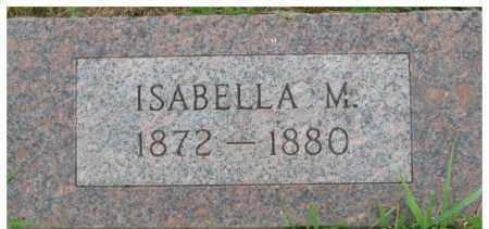 HUNTER, ISABELLA MAY - Dixon County, Nebraska | ISABELLA MAY HUNTER - Nebraska Gravestone Photos