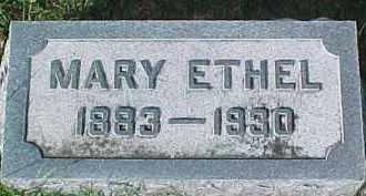 AGLER HUNTER, MARY ETHEL - Dixon County, Nebraska | MARY ETHEL AGLER HUNTER - Nebraska Gravestone Photos