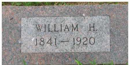 HUNTER, WILLIAM H. - Dixon County, Nebraska | WILLIAM H. HUNTER - Nebraska Gravestone Photos