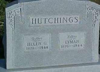 HUTCHINGS, HELEN G. - Dixon County, Nebraska | HELEN G. HUTCHINGS - Nebraska Gravestone Photos