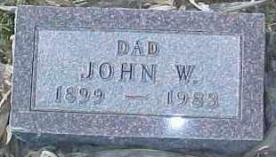 HUTCHINGS, JOHN W.   (FATHER) - Dixon County, Nebraska | JOHN W.   (FATHER) HUTCHINGS - Nebraska Gravestone Photos