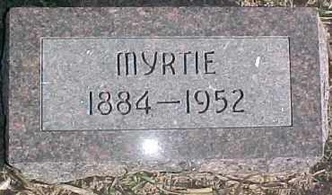 HUTCHINGS, MYRTIE - Dixon County, Nebraska | MYRTIE HUTCHINGS - Nebraska Gravestone Photos