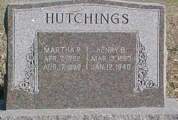 HUTCHINGS, HENRY B. - Dixon County, Nebraska | HENRY B. HUTCHINGS - Nebraska Gravestone Photos