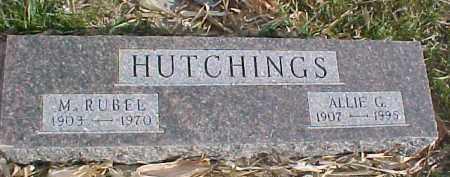 HUTCHINGS, M. RUBEL - Dixon County, Nebraska | M. RUBEL HUTCHINGS - Nebraska Gravestone Photos