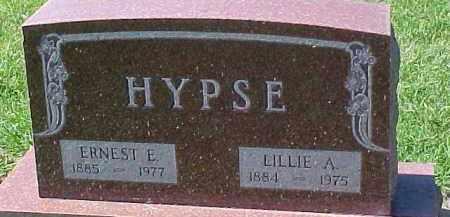 HYPSE, ERNEST E. - Dixon County, Nebraska | ERNEST E. HYPSE - Nebraska Gravestone Photos