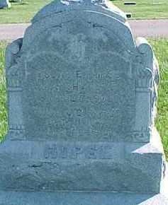 HYPSE, SINA J.C. - Dixon County, Nebraska   SINA J.C. HYPSE - Nebraska Gravestone Photos