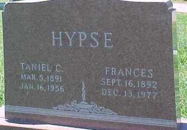 HYPSE, TANIEL C. - Dixon County, Nebraska | TANIEL C. HYPSE - Nebraska Gravestone Photos