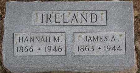 IRELAND, JAMES A. - Dixon County, Nebraska   JAMES A. IRELAND - Nebraska Gravestone Photos