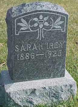 IREY, SARAH - Dixon County, Nebraska   SARAH IREY - Nebraska Gravestone Photos