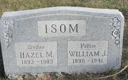 ISOM, HAZEL M. - Dixon County, Nebraska | HAZEL M. ISOM - Nebraska Gravestone Photos