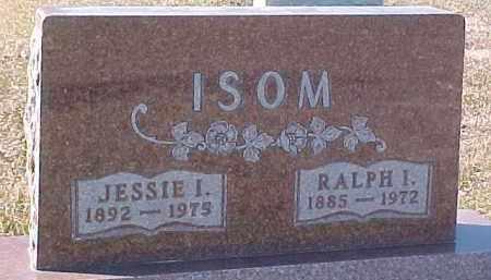 ISOM, JESSIE I. - Dixon County, Nebraska | JESSIE I. ISOM - Nebraska Gravestone Photos