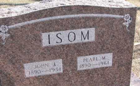 ISOM, PEARL M. - Dixon County, Nebraska   PEARL M. ISOM - Nebraska Gravestone Photos
